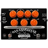 Orange Custom Shop Bax Bangeetar Guitar Pre-EQ Pedal, Black