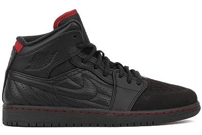 3cce2a27f345 Nike Air Jordan 1 Retro 99 Black Gym Red 654140-001 (SIZE