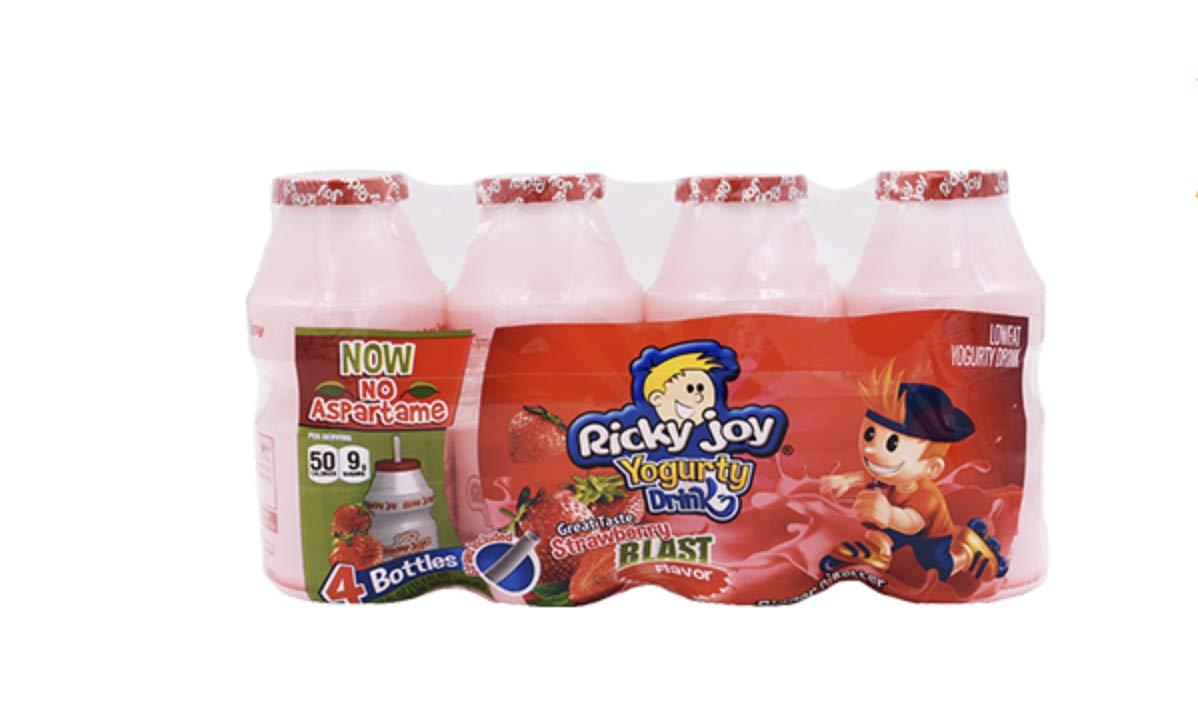 Yogurt Drink Probiotic Dailies Assorted flavors Strawberry,mixed berries,mango, orange, original 3.37 (Strawberry Blast, Pack of 20)
