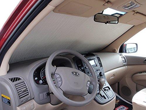 The Original Heatshield, Kia Sedona Minivan 2006-2013, Silver Series Sunshade Kia Sedona Minivan