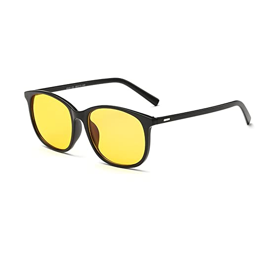 375bb80040 Image Unavailable. Image not available for. Color  Night Driving Glasses  Polarized Sunglasses Anti Glare Rainy Safe HD Night Vision Glasses