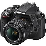 Nikon D3300 24.2 MP CMOS Digital SLR with AF-S DX NIKKOR 18-55mm f/3.5-5.6G VR II Zoom Lens, Certified Refurbished, Black