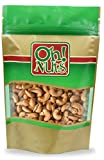 oh nuts dry roasted cashews - Cashews Oven Roasted Finely Salted, Dry Roasted Salted Cashews - Oh! Nuts (3 LB Dry Roasted Salted Cashews)