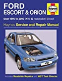 Ford Escort and Orion Diesel Service Repair Manual: 1990 to 2000 (H to X Reg) (Haynes Service and Re