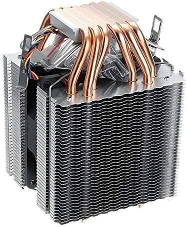 YIWMHE 6 Pipes Computer CPU Cooler Fan Heatsink