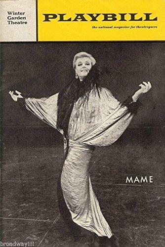 "Angela Lansbury ""MAME"" Jerry Herman / Jane Connell 1967 Broadway Playbill"