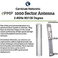 Cambium Networks - C024900D004A - ePMP 1000, 2.4 GHz 90 degree Sector Antenna (C024900D004A)