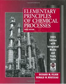 Amazon elementary principles of chemical processes binder elementary principles of chemical processes fandeluxe Gallery