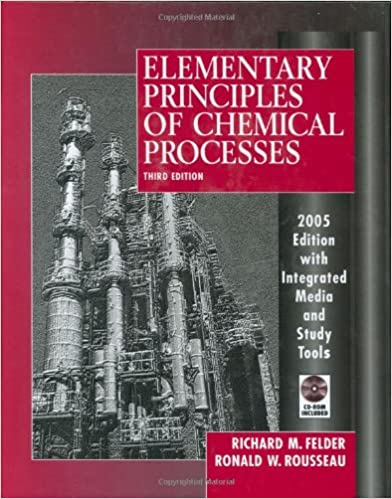 Elementary Principles Of Chemical Processes Richard M