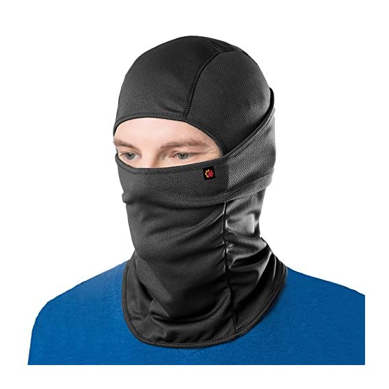 Le Gear Face Mask Pro+ for Bike, Ski, Cycling, Running, Hiking - Protects from Wind, Sun, Dust - 4 Way Stretch - #1
