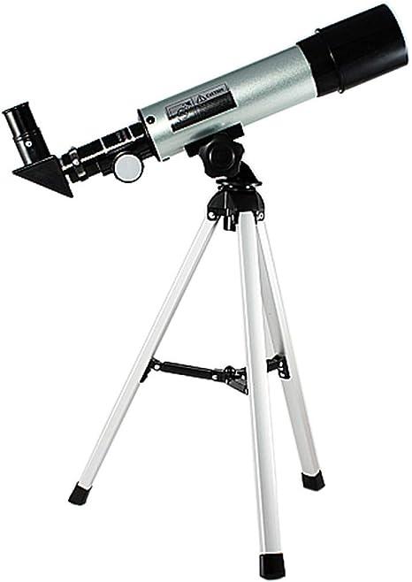 Hhrong Telescopio astronómico Observación de Estrellas Profesional F36050 Monocular HD Visión Nocturna Telescopio Mirando al Aire Libre Observación de Aves Senderismo Caza Turismo Movimiento: Amazon.es: Deportes y aire libre