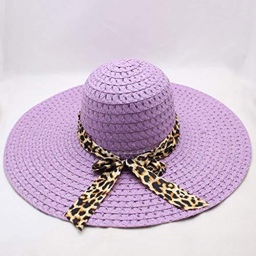 9dbf320d0e9fb7 Beach Cap Women Print Two-Side Big Brim Straw Hat Sun Floppy Wide Brim Hats