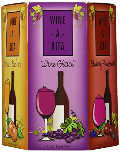 Wine-A-Rita Mix-It-Up: Five Delicious Margarita Flavor Packets - Make a Great Drink with Mix, Ice, Wine and a Blender 5-6 oz packs (30 oz) 5-170 g packs (850 g) (Slushy Mix compare prices)