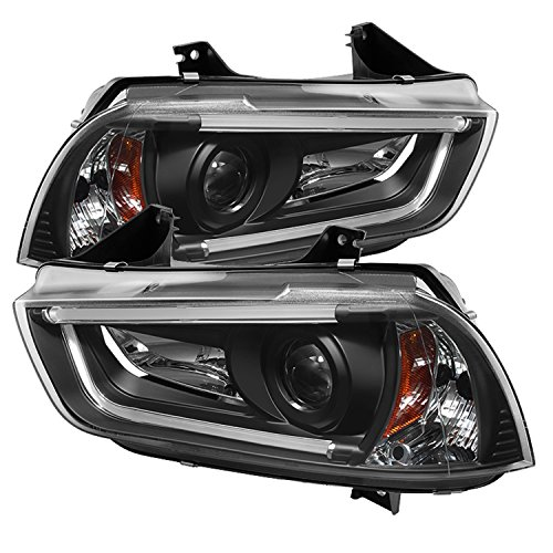 (Spyder Auto (PRO-YD-DCH11-LTDRL-HID-BK) Dodge Charger Projector)