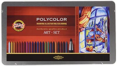 Koh-i-noor Polycolor 3.8 mm Mechanical Pencils Set. 3896