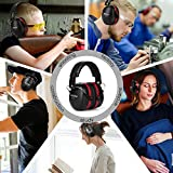 SULWZM Hearing Protection Ear Muffs,NRR 28db Noise