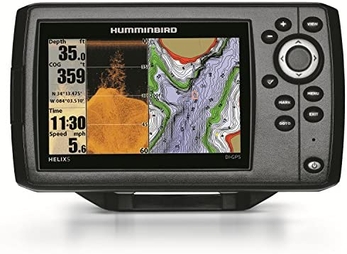 Humminbird 409620-1 Helix 5 DI Fish Finder with Down-Imaging and GPS