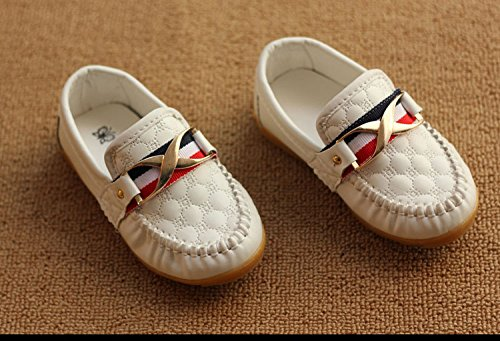 Amazon.com | Gaorui Kid Baby Toddler Boy Moccasin Loafer Soft Leather Casual Oxford Boat Walking Slip-On Peas Shoes | Loafers