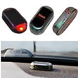 Fake Solar LED Light Car Alarm Security Red Flash Anti-Theft Burglar-Deterrent