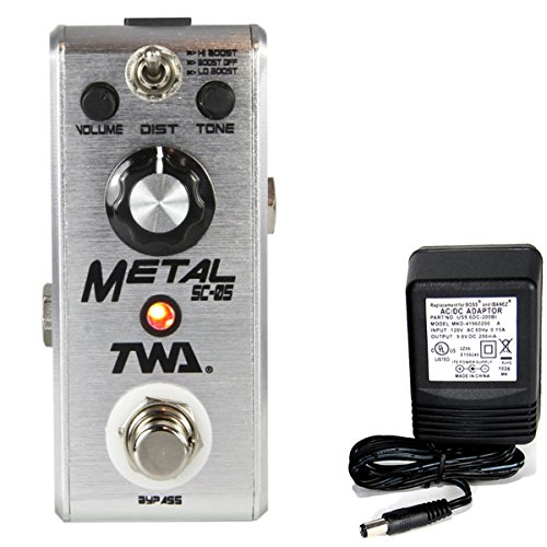 twa-fly-boys-mini-pedals-metal-fb-05-guitar-distortion-effects-pedal