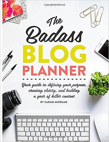 Badass Blog Planner