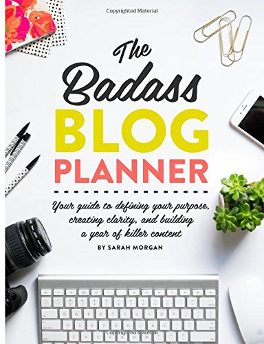 Image result for badass blog planner