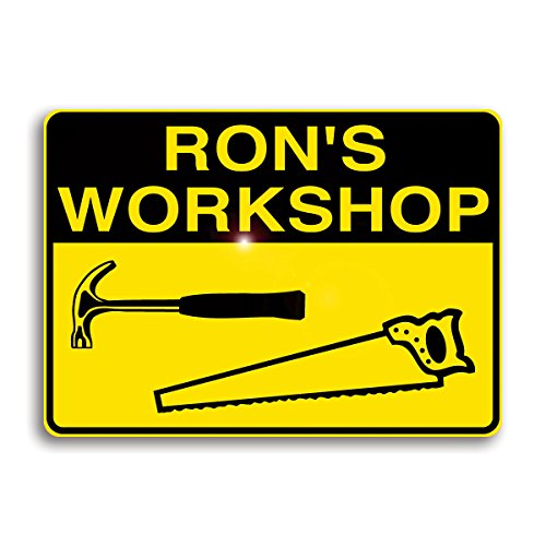 Workshop Sign, Personalized with Your Name!