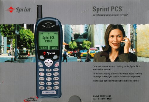 Cell Mobile Phone Audiovox - Audiovox CDM9100SP Dual Band / Tri Mode Cell Phone for Sprint PCS