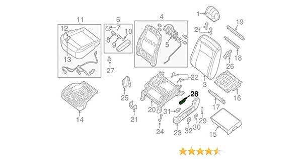 Admirable Amazon Com Nissan Altima Nv Left Driver Power Seat Slide Switch Oem Wiring Digital Resources Tziciprontobusorg