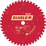 Freud D1244X Diablo 12-Inch 44 Tooth ATB General Purpose Miter Saw Blade with 1-Inch Arbor