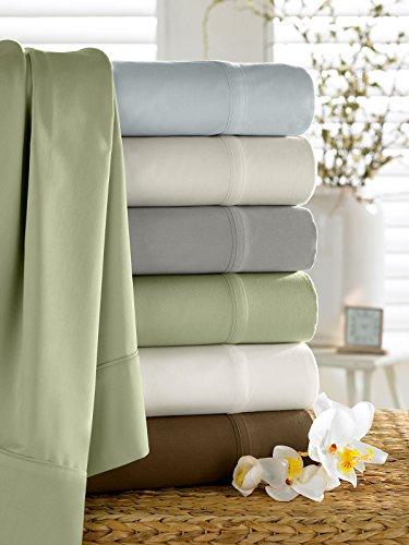 camelot-luxury-bamboo-pillowcases-grey-queen