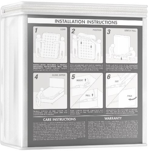 Sleep Defense System - Waterproof / Bed Bug Proof Mattress Encasement -...