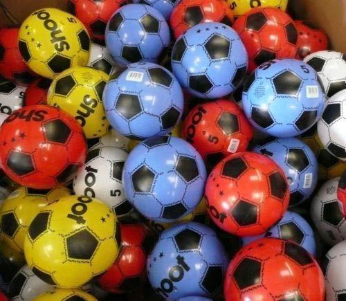 T&B PLASTIC FOOTBALL 10  FLAT UNINFLATABLE  Multi Quantity (Quantity)