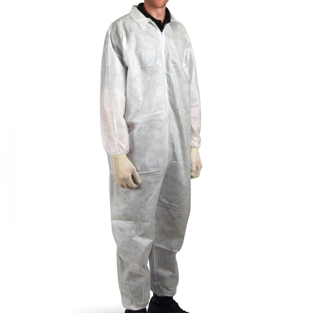 UltraSource Disposable SMS Coveralls Large 442101-L Pack of 25