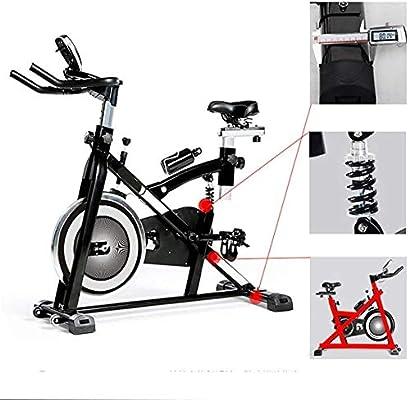 KOSGK Bicicletas Ejercicio para Uso doméstico, Bicicleta Spinning Inteligente Avanzada con computadora Entrenamiento y Bicicleta elíptica con Sistema absorción Impactos Bicicletas Ejercicio: Amazon.es: Hogar