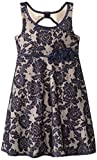 Bonnie Jean Little Girls' Floral Lace Dress with Open Back