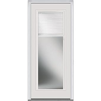 National Door Company ZA20353L Fiberglass Internal Mini Blinds Clear ...