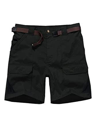 678954f653 Women's Outdoor Lightweight Quick Dry Casual Breathable Soft Work Hiking  Shorts,2105,Black,