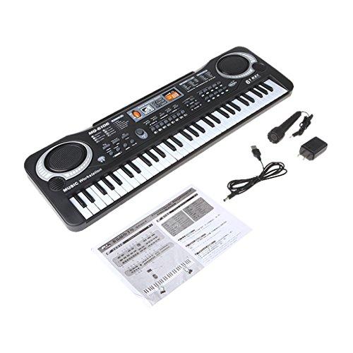 ULKEME61 Key Children Electronic Digital Keyboard Electric Organ With Microphone by ULKEME
