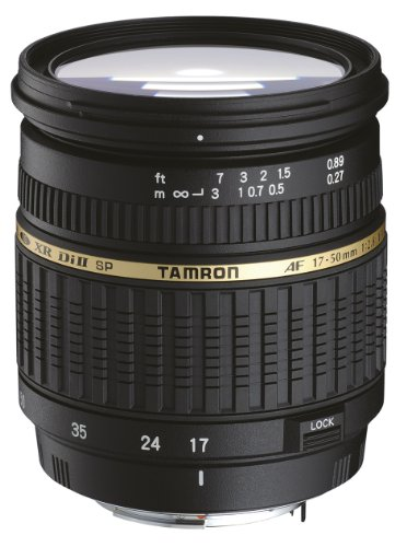 Tamron SP AF 17-50MM F/2.8 XR Di II LD Aspherical (IF) Lens for PENTAX Digital - International Version (No Warranty) by Tamron