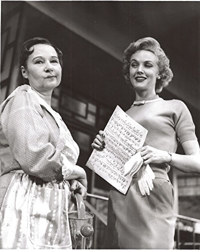 "Barbara Britton ""WAKE UP, Lovely"" Paula Trueman 1956 FLOP 8"" X 10"" Press Photo"