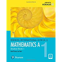 Pearson Edexcel International GCSE (9-1) Mathematics A Student Book 1: print and ebook bundle