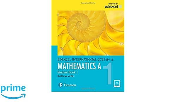 Edexcel international GCSE 9-1 . Students book 1. Mathematics A ...