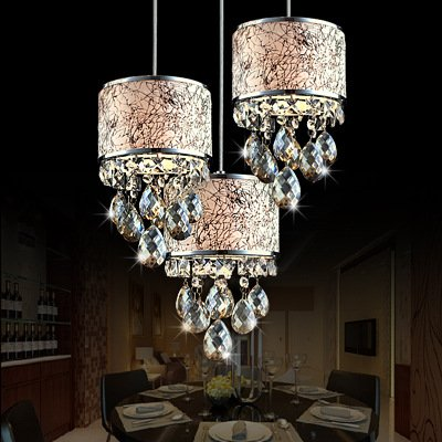 Factory Chassis - CLG-FLY Specials Dining-Room Chandelier Three Living Room Lamps Lights Luxury Sheepskin Atmosphere Modern Minimalist Lighting Factory Outlet,3 Round Chassis,Without Light,with best service