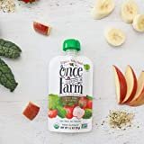 Once Upon a Farm Organic Stage 2   Baby Food Pouch