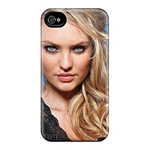 New QKWKMSx3672AYqMU Candice Swanepoel Skin Case Cover Shatterproof Case For Iphone 4/4s