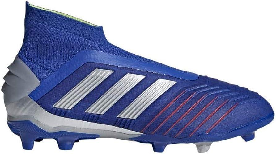 FG Boy, Football Boot, Bold Blue-Silver