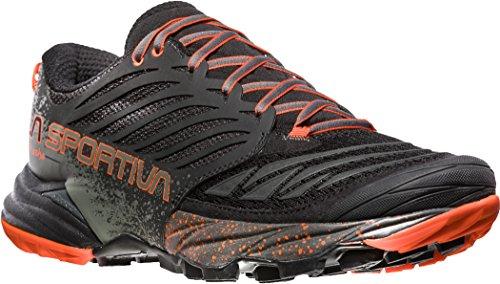 La Sportiva Mutant Scarpe Da Corsa Da Donna - Ss18 Akasha Black / Tangerine Talla: 43.5