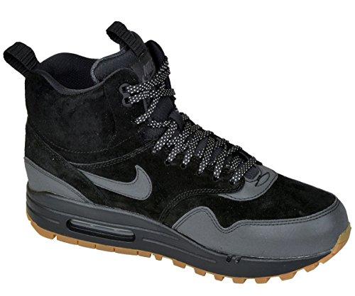 NIKE Air Max 1 Mid Sneakerboot Women US 5.5 Black Sneakers
