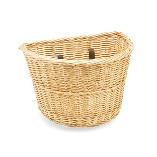 Electra Wicker Bicycle Basket with Straps (Colors May Vary)